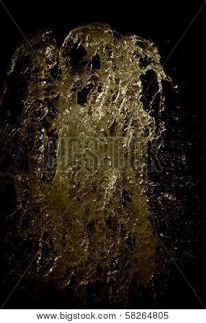 Water Gushing