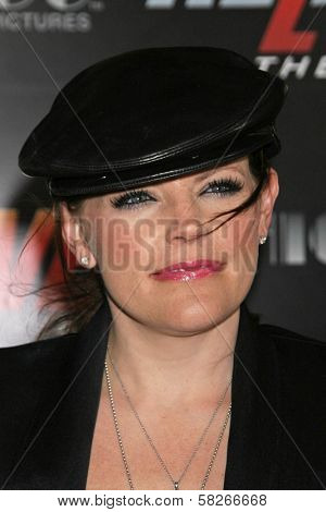Natalie Maines at the Los Angeles Premiere of