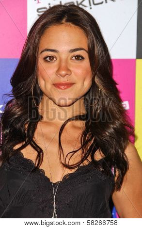 Camille Guaty at the launch of T-Mobile Sidekick ID, T-Mobile Sidekick Lot, Hollywood, CA. 04-13-07