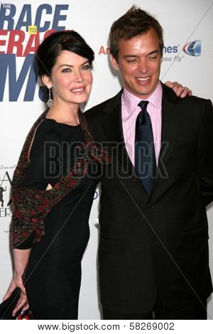 Lara Flynn Boyle and husband Donald at the 14th Annual