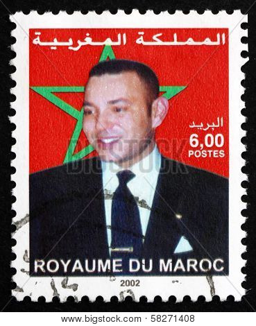 Postage Stamp Morocco 2002 Mohammed Vi, King Of Morocco