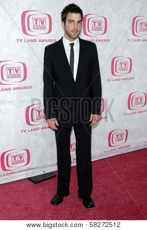 Zachary Quinto at the 5th Annual TV Land Awards. Barker Hangar, Santa Monica, CA. 04-14-07