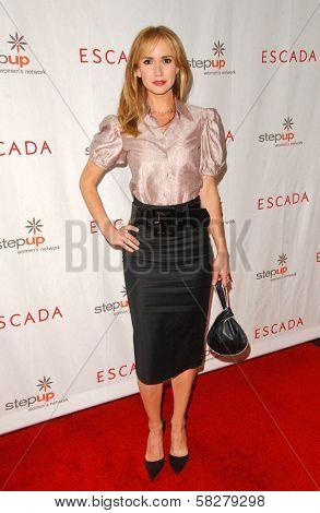 Ashley Jones at an Escada 2007 Fall Winter Sneak Preview to Benefit Step Up Women's Network. Beverly Hills Hotel, Beverly Hills, CA. 04-19-07