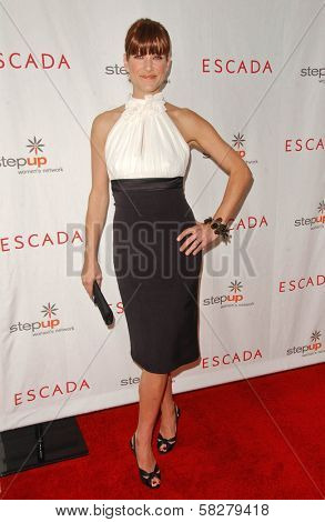 Kate Walsh at an Escada 2007 Fall Winter Sneak Preview to Benefit Step Up Women's Network. Beverly Hills Hotel, Beverly Hills, CA. 04-19-07
