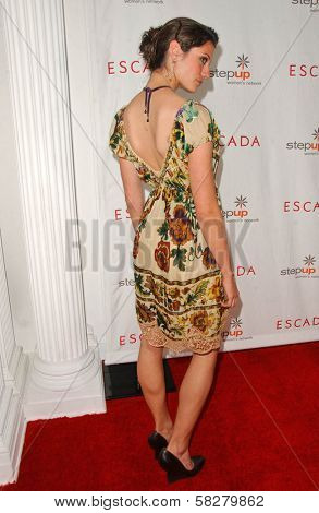 Michelle Lombardo at an Escada 2007 Fall Winter Sneak Preview to Benefit Step Up Women's Network. Beverly Hills Hotel, Beverly Hills, CA. 04-19-07