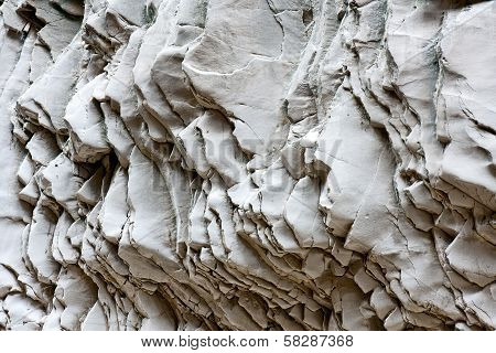 Waves And Tiles Of Rock Formations