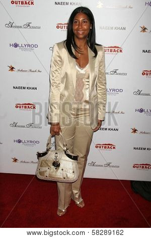 Cookie Johnson at the DESIGNCARE 2007 Fundraiser to benefit those battling debilitating disease and life circumstances. Private Residence, Malibu, CA. 07-21-07
