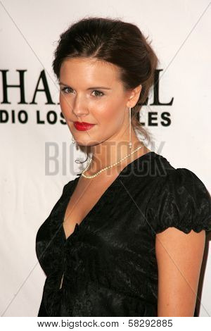 Maggie Grace at the Gridlock New Years Eve 2007 Party, Paramount Studios, Los Angeles, CA 12-31-06