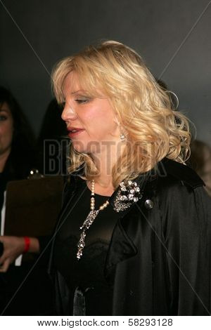 Courtney Love at the Gridlock New Years Eve 2007 Party, Paramount Studios, Los Angeles, CA 12-31-06