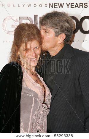 Eric Roberts and wife Eliza at the Gridlock New Years Eve 2007 Party, Paramount Studios, Los Angeles, CA 12-31-06