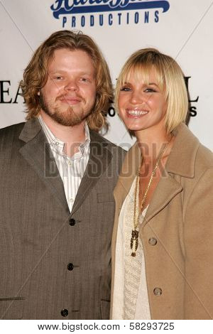Elden Henson and Ashley Scott at the Gridlock New Years Eve 2007 Party, Paramount Studios, Los Angeles, CA 12-31-06