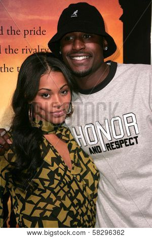 Lauren London and Jackie Long at the world premiere of