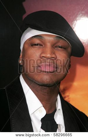 Ne-Yo at the world premiere of