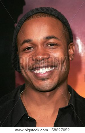 Sean Riggs at the world premiere of