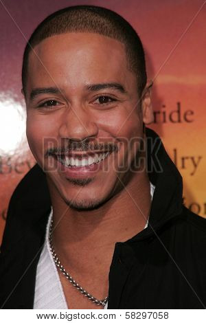 Brian White at the world premiere of