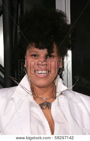 Twinkie Byrd at the world premiere of