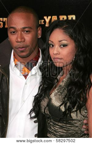 Columbus Short and Tanee Short at the world premiere of