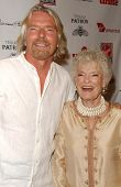 Richard Branson and Eve Branson at Rock The Kasbah presented by Virgin Unite. Roosevelt Hotel, Holly