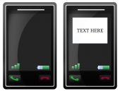 leere Handy Touch-screen