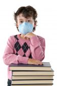 Student Child Infected With Influenza A