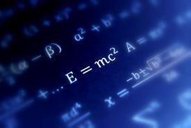 picture of albert einstein  - Einstein formula of relativity  constant pi  - JPG