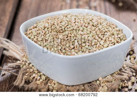 Bowl With Buckwheat