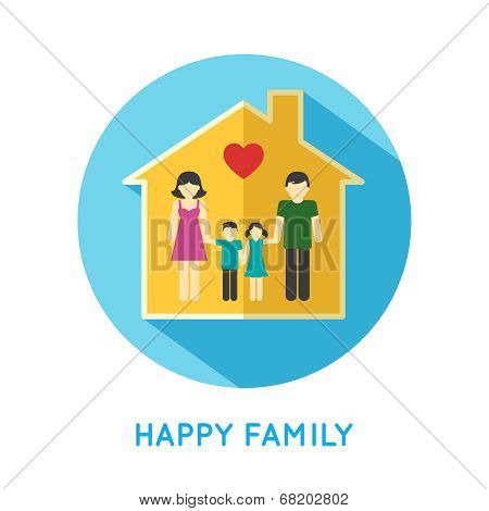 Family icon home