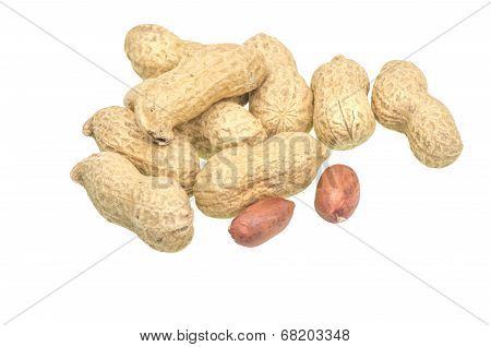 Group Of Peanuts