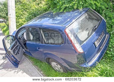 Wrecked Car