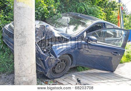 Hard Crushed Car
