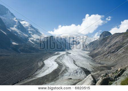 Apls Glacier With Stones