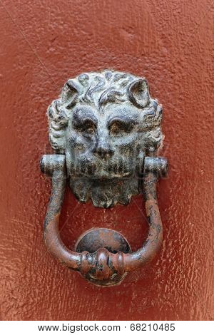 Old Rusty Doorknob