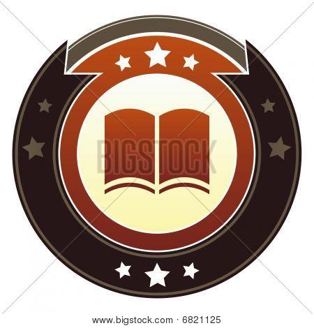 Icono de libro o lectura