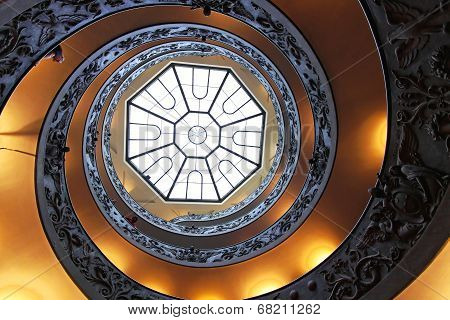 The Bramante Staircase