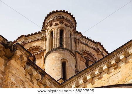 Detail Of The Dome  In The Romanesque Collegiate Church Of Toro In Zamora