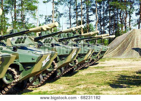 Airborne Combat Vehicles