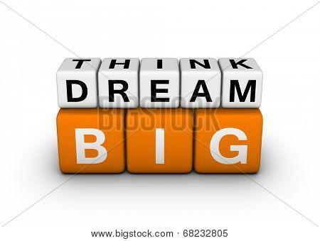 big think big dream symbol (orange-white crossword puzzles series)