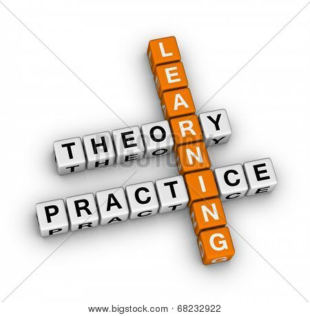 learning - theory and practice (orange-white crossword puzzles series)