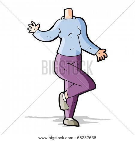 cartoon body (mix and match cartoons or add own photos)