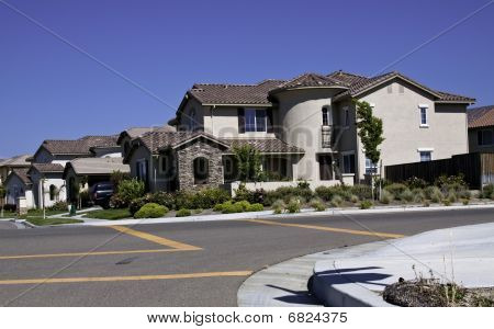Pleasing Modern American Houses Stock Photo Stock Images Bigstock Largest Home Design Picture Inspirations Pitcheantrous