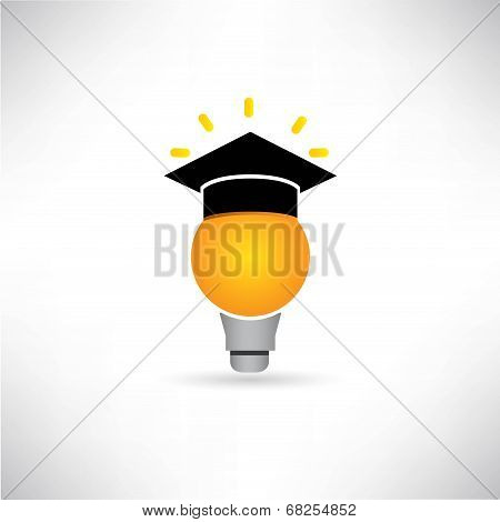 creative, idea bulb, graduated concept