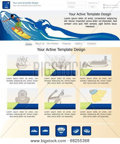 website template 20