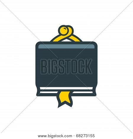 Finance Book Sign