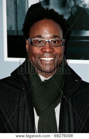 NEW YORK-JAN 12: Billy Porter attends 'Beautiful - The Carole King Musical' Broadway Opening Night at Stephen Sondheim Theatre on January 12, 2014 in New York City.