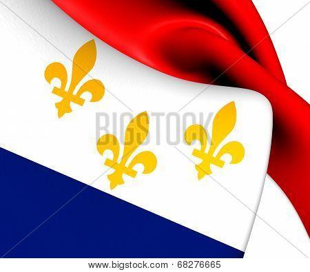 Flag Of New Orleans