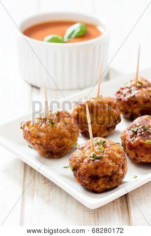Juicy Meatballs