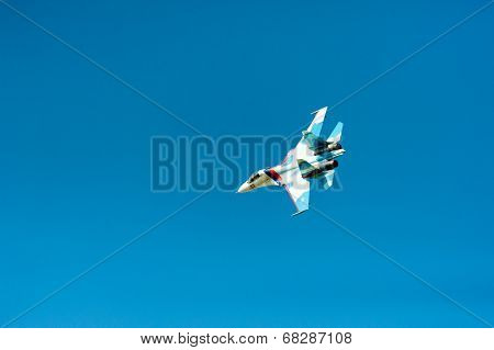 BIG ZAVIDOVO, RUSSIA - JULY 5: Mig 29 performs at open-air rock festival
