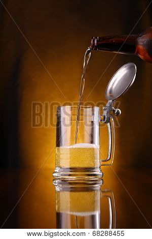 Pouring Beer