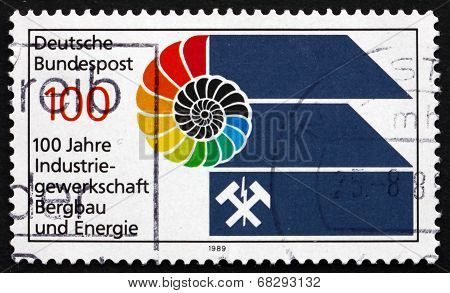 Postage Stamp Germany 1989 Trade Union