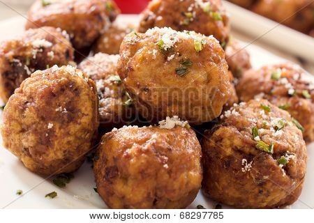 Grup Of Meat Balls